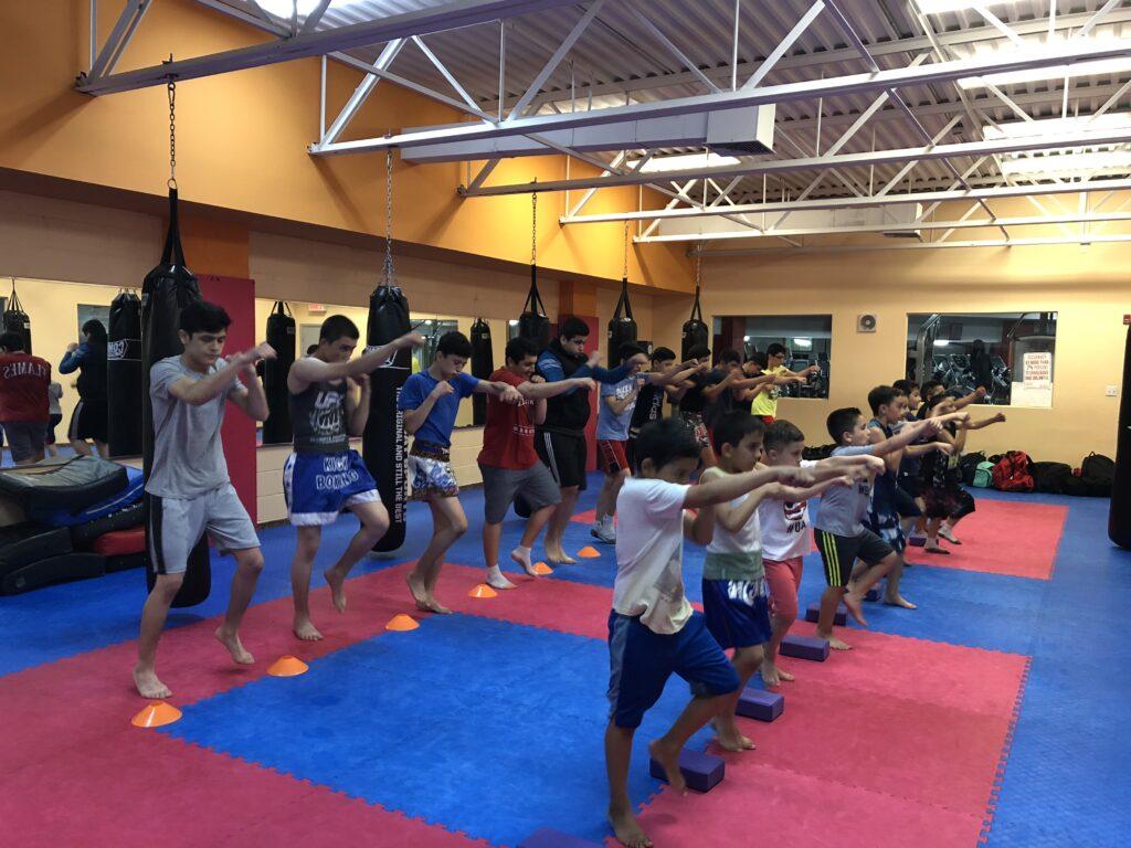 Kickboxing with Zarif